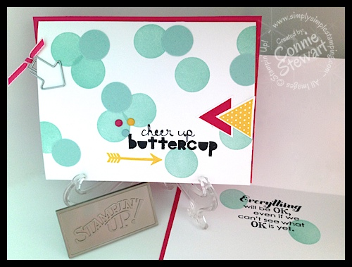 Cheer Up Buttercup - www.SimplySimpleStamping.com