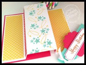 Happy Birthday Fun Fold - www.SimplySimpleStamping.com