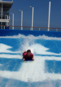 Body Surfing on Allure of the Seas - www.SimplySimpleStamping.com