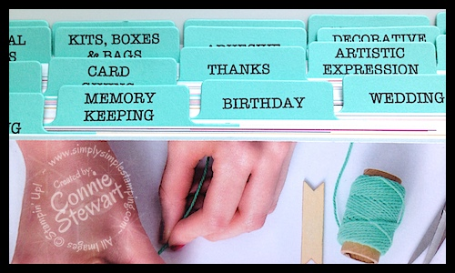 DOWNLOAD YOUR 2014-2015 Stampin' Up Catalog Tabs - www.SimplySimpleStamping.com