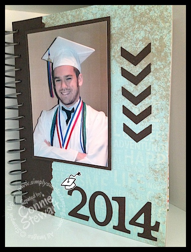 This-n-That Graduation Guest Book - www.SimplySimpleStamping.com