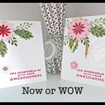 Now or WOW - Flower Patch Awesomeness card by Connie Stewart - www.SimplySimpleStamping.com