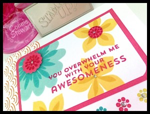FLASH CARDS - Overwhelming Awesomeness - www.SimplySimpleStamping.com