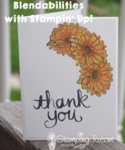 Stampin' Gals Gone Wild Wednesday VIDEO Tutorial - www.SimplySimpleStamping.com