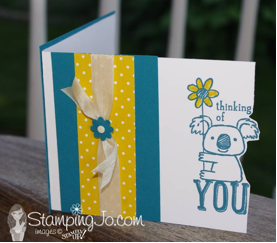 Thinking of You - www.SimplySimpleStamping.com