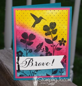 Stampin' Gals Gone Wild Wednesday Free Video - www.SimplySimpleStamping.com