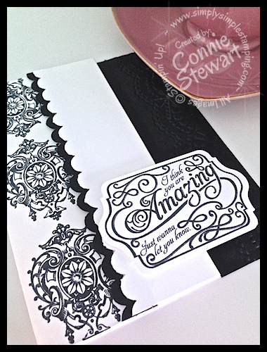 Flash Cards 2. 0 -You're Amazing by Connie Stewart - www.SimplySimpleStamping.com