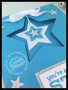 Now or WOW - You're a Star Glimmer card - www.SimplySimpleStamping.com