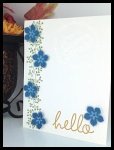 Flash Card 2.0 Cascading Flower card by Connie Stewart - www.SimplySimpleStamping.com