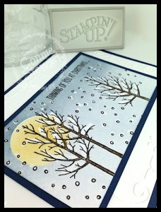 Now or WOW Video Series - Crayon Resist White Christmas Card by Connie Stewart - www.SimplySimpleStamping.com