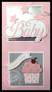 Baby Name Frame by Connie Stewart - www.SimplySimpleStamping.com
