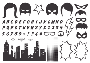 Calling All Heroes Photopolymer stamp set - order at www.SimplySimpleStamping.com