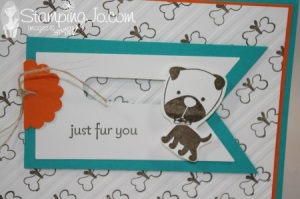 Stampin' Gals Gone Wild Wednesday - Diggity Dog - www.SimplySimpleStamping.com