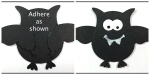 FLASH CARD tutorial - Spooky Screamy Halloweeny Card - www.SimplySimpleStamping.com