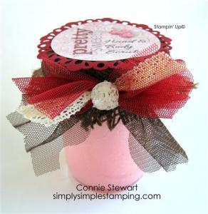 Pretty Sweet Sugar Scrub - www.SimplySimpleStamping.com