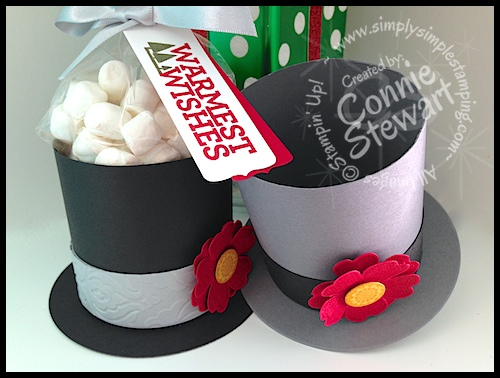 One Sheet Wonder – Frosty the Snowman Hat Box – Video tutorial