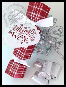 Stampin' Gals Gone Wild Wednesday Video - Christmas Crackers - www.SimplySimpleStamping.com
