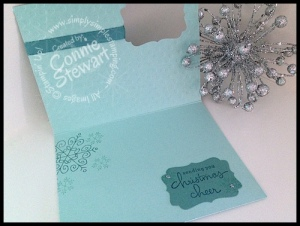 FLASH CARD 2.0 - Endless Christmas Wishes - www.SimplySimpleStamping.com