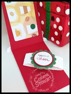 Starbucks Coffee Cup Gift Card Holder - www.SimplySimpleStamping.com