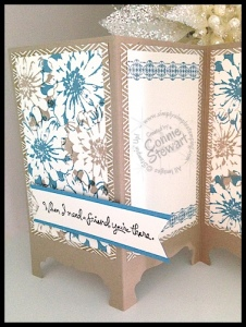 Stampin' Gals Gone Wild Wednesday Free video - Choose Happiness Screen Card - www.SimplySimpleStamping.com