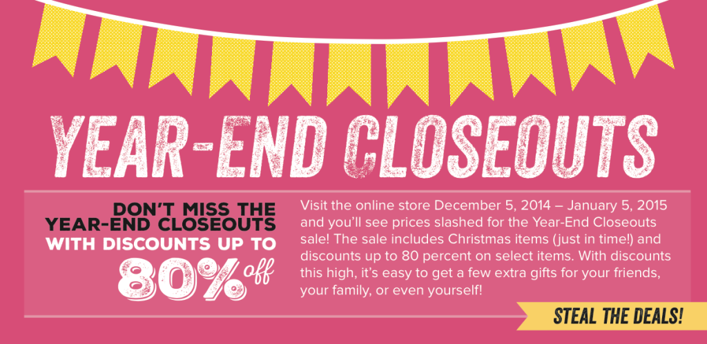 Year-End Closeouts at www.SimplySimpleStamping.com