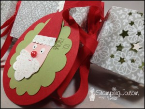 Stampin' Gals Gone Wild Christmas Cracker - www.SimplySimpleStamping.com