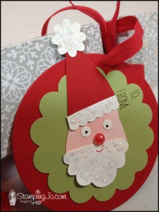 Stampin' Gals Gone Wild Christmas Cracker - www.SimplySimpleStamping.com