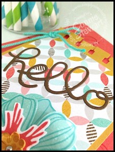 Stampin' Gals Gone Wild Weekend Sketch Challenge!  January 23, 2015 - www.SimplySimpleStamping.com