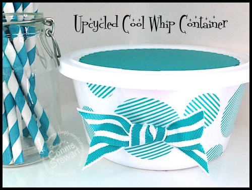 2-Minute Tuesday Tip Video – Upcycle those Plastic Tubs
