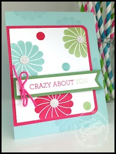 Stampin' Gals Gone Wild Weekend Challenge - February 6, 2015 - www.SimplySimpleStamping.com