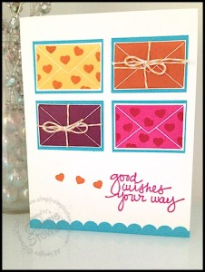 Lovely Amazing You Card by Connie Stewart - www.SimplySimpleStamping.com - March 11, 2015