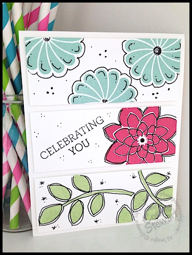 Stampin' Gals Gone Wild Weekend Challenge - April 17, 2015 - join us at www.SimplySimpleStamping.com