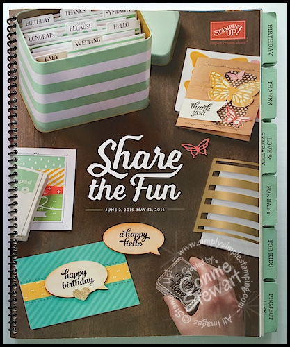 2015-2016 Stampin' Up Catalog Tabs – FREE Printable & Video Tutorial