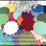 2-Minute Tuesday Tip Video - Create Your Own Color Combinations - www.SimplySimpleStamping.com - June 9, 2015