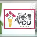 FLASH CARD VIDEO - I'm Always Here for You - www.SimplySimpleStamping.com - June 24, 2015