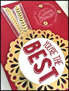 Stampin' Gals Gone Wild Weekend Challenge - June 26, 2015 - join us at www.SimplySimpleStamping.com