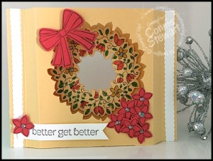 Flash Card 2.0 - Better Get Better - Circle of Spring - Created by Connie Stewart - www.SimplySimpleStamping.com - blog post July 8, 2015