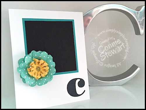 Stampin' Gals Gone Wild Weekend Challenge - July 31, 2015 - join us at www.SimplySimpleStamping.com