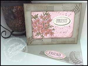 FLASH CARD - Awesomely Artistic Friendship Card - www.SimplySimpleStamping.com - August 6, 2015 blog post - Video Tutorial