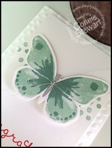 """Stampin' Up """"Congrats"""" card - Convention 2015 - www.SimplySimpleStamping.com"""