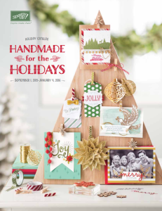 The NEW Holiday Catalog is HERE! Order today at www.SimplySimpleStamping.com