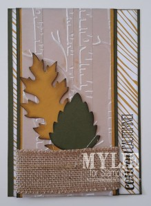 """Emilie Veyssilier's creation for """"You Can Create It International"""" - see all the samples at www.SimplySimpleStamping.com"""