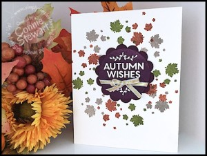 October 2, 2015 - Stampin' Gals Gone Wild Weekend Challenge - check it out at www.SimplySimpleStamping.com.