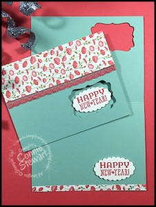 Happy New Stampin' Up Year card - www.SimplySimpleStamping.com