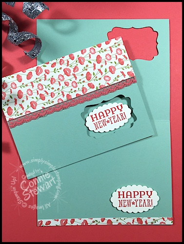 happy new stampin up year card wwwsimplysimplestampingcom