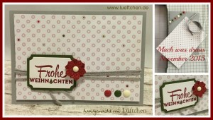 """Anja Luft's creation for """"You Can Create It International"""" - see all the samples at www.SimplySimpleStamping.com - December 1, 2015 blog post"""