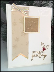 Stampin' Gals Gone Wild Weekend Challenge for November 20, 2015 - join us at www.SimplySimpleStamping.com