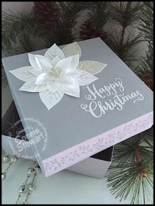 Elegant Christmas Gift Box - Mediterranean Blog Hop - November 25, 2015 - www.SimplySimpleStamping.com