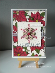 """Marine Wiplier's creation for """"You Can Create It International"""" - see all the samples at www.SimplySimpleStamping.com - December 1, 2015 blog post"""
