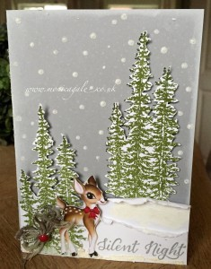 """Monica Gale's creation for """"You Can Create It International"""" - see all the samples at www.SimplySimpleStamping.com - December 1, 2015 blog post"""